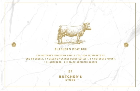 De Laet & Van Haver Butcher's Meat Box
