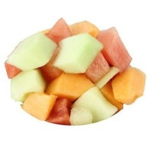 Handgesneden Meloenmix 500gr