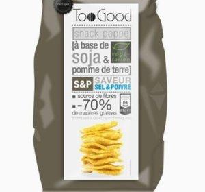 Gepofte Chips met Peper en Zout