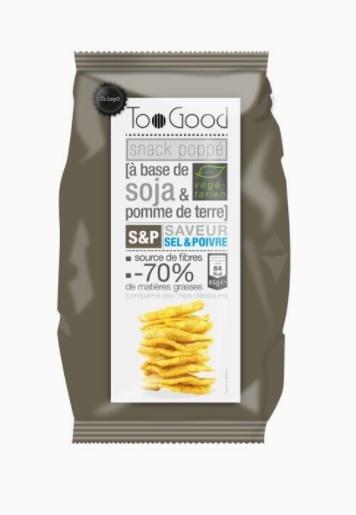 Too Good Gepofte Chips met Peper en Zout