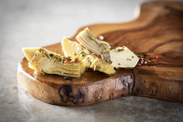 De Laet & Van Haver Artisjokken met Parmigiano