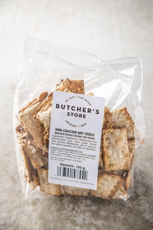 De Laet & Van Haver Mini crackers met vezels