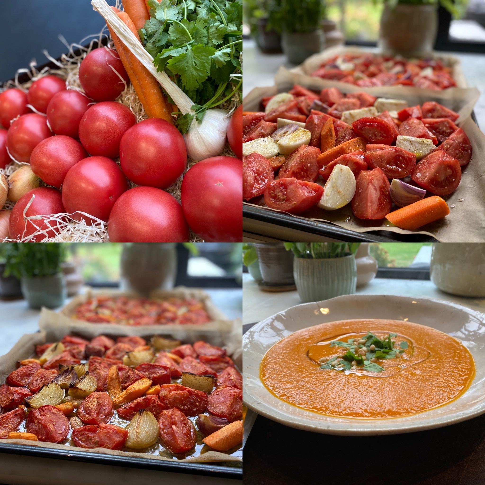 Vers d'Anvers Zuiderse Soep met Geroosterde Tomaten