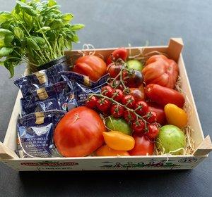 Box Tomaten en Mozzarella di Bufala