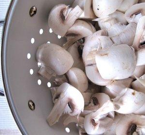 Blonde champignon kwartjes
