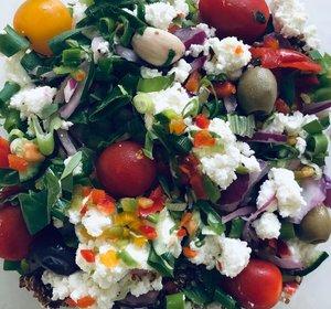 Quiñoa salade geitenkaas (500gr)