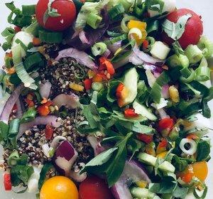 Quiñoa salade mozzarella (500gr)