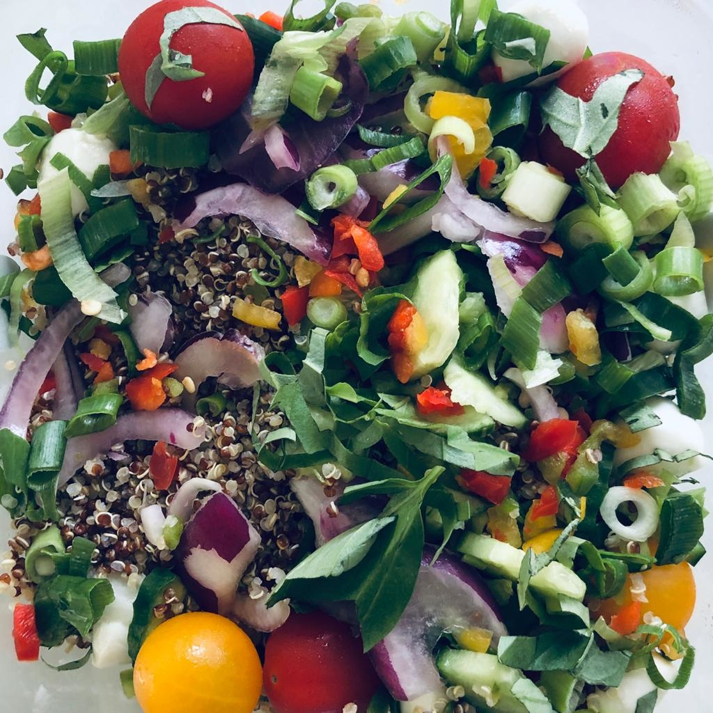 't Vitamientje Quiñoa salade mozzarella (500gr)