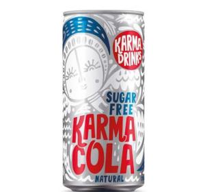 Karma Cola Suikervrij Fairtrade 250ml