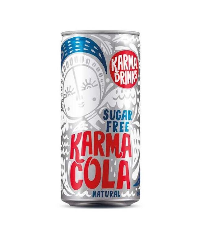 Karma Cola Karma Cola Suikervrij Fairtrade 250ml