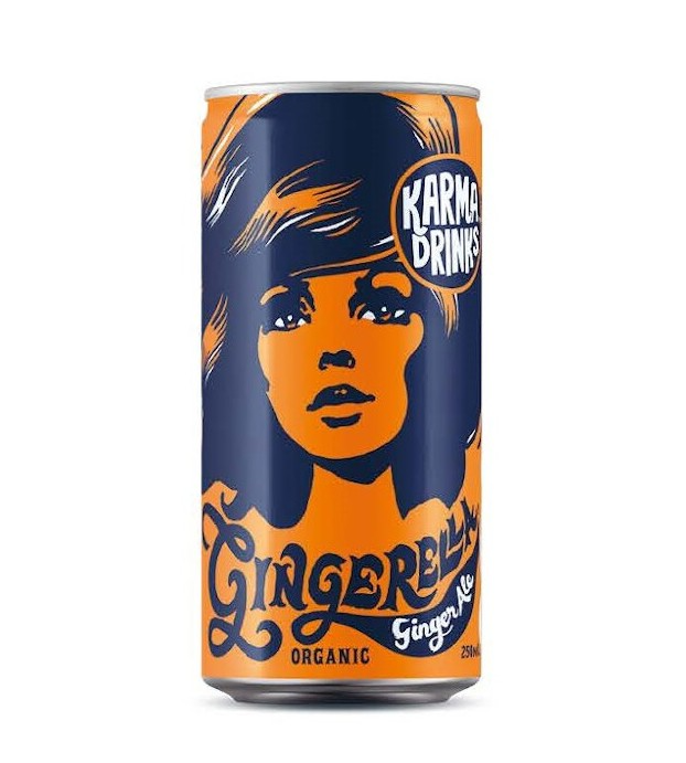 Karma Cola Gingerella Ginger Ale  BIO Fairtrade 250ml