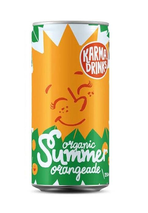 Karma Cola Orangeade BIO Fairtrade 250ml