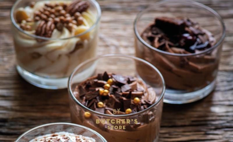 Chocolademousse potje