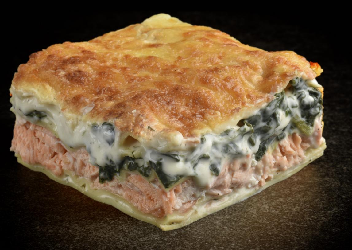 Kelderman-Altoni Lasagne Zalm en Spinazie  2,4 kg