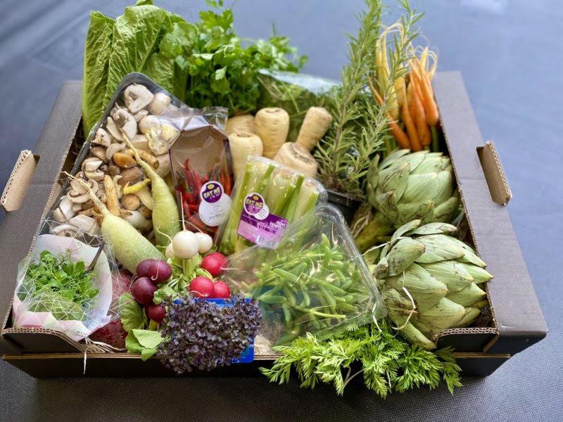Vers d'Anvers Culinaire (te redden) Groenten Box