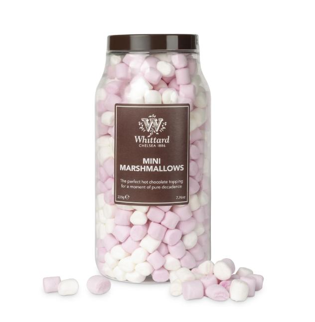 Whittard & Chelsea Mini Marshmallows pot 220gr