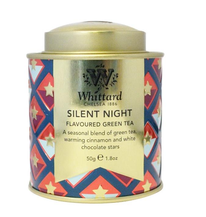 Whittard & Chelsea Kerst Mini Caddy Silent Night 50gr