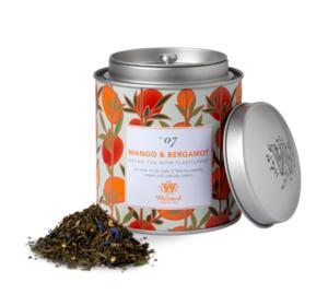Tea Discoveries  Mango & Bergamot Caddy 100gr