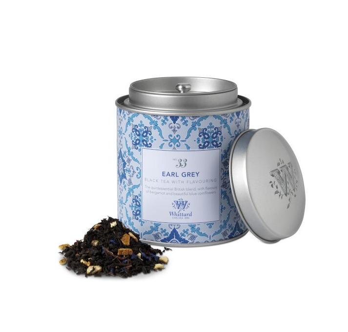 Whittard & Chelsea Tea Discoveries  Earl Grey Caddy 100gr