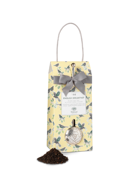 Whittard & Chelsea Tea Discoveries English Breakfast Pouch & Infuser