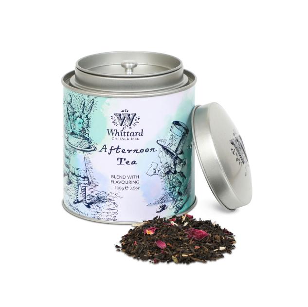 Whittard & Chelsea Alice in Wonderland Afternoon Tea Caddy 100gr
