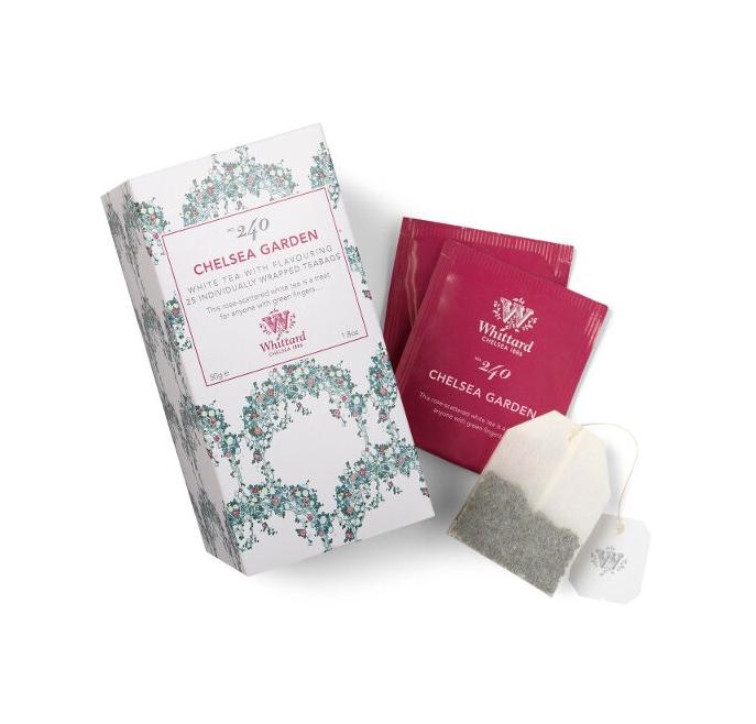 Whittard & Chelsea Tea Discoveries Chelsea Garden 25 theezakjes