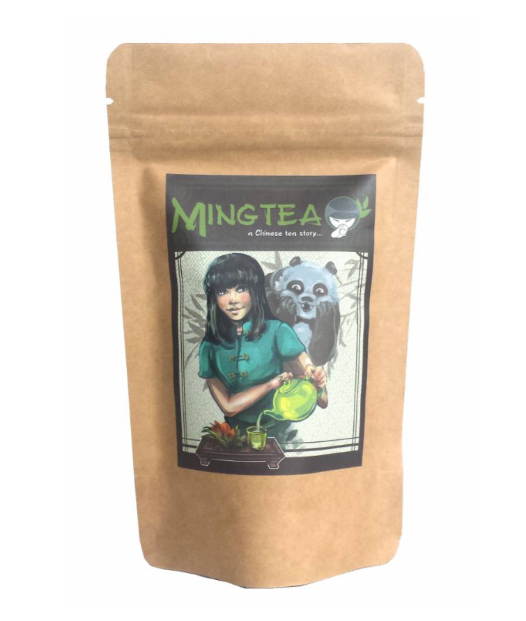 Ming Tea Groene thee Lung Ching New flush 2020   - 50gr