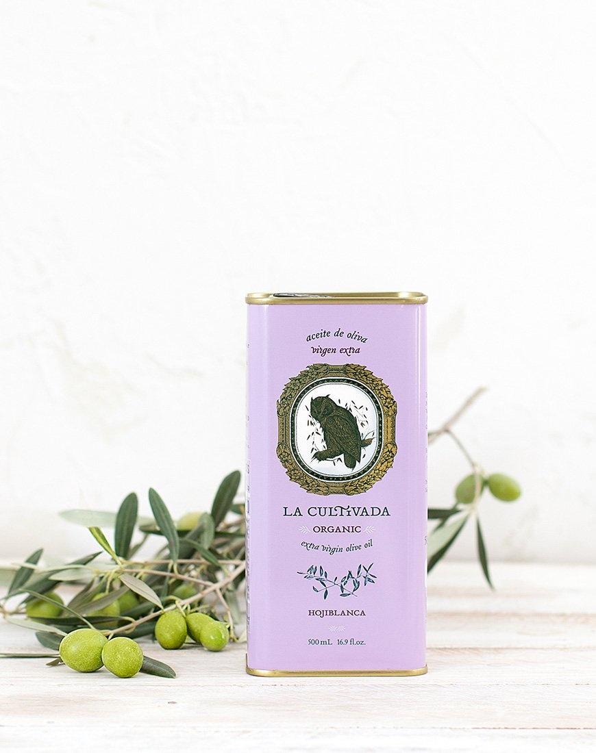 La Cultivada Extra zuivere olijfolie Hojiblanco BIO 250ml