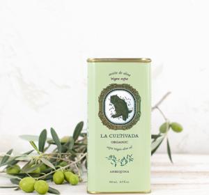 Extra zuivere olijfolie Arbequina BIO 250ml