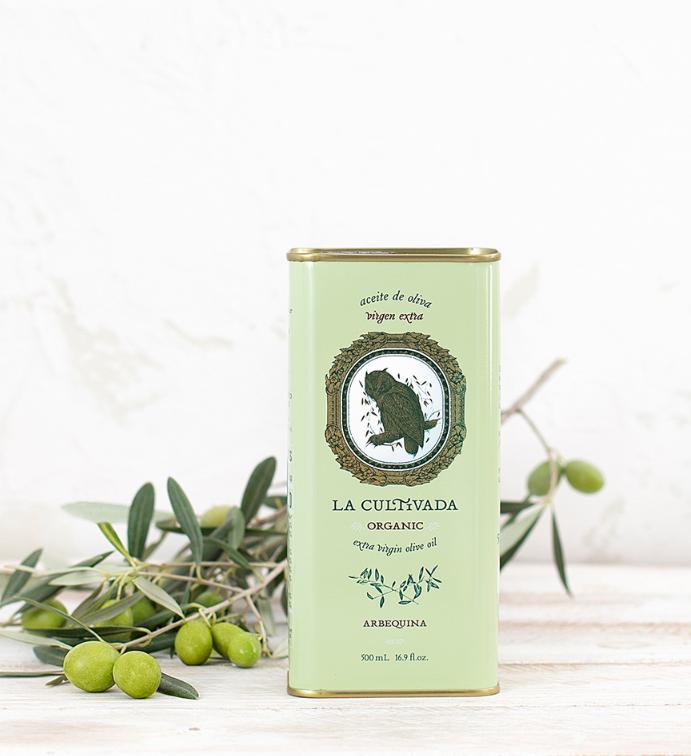 La Cultivada Extra zuivere olijfolie Arbequina BIO 250ml