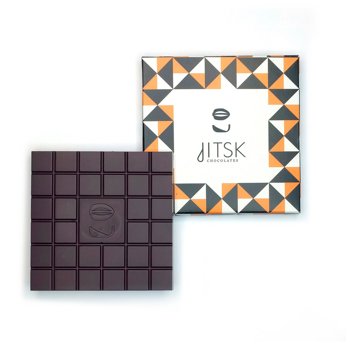 jitsk Tablet Pure Chocolade Dominican Republic 74%