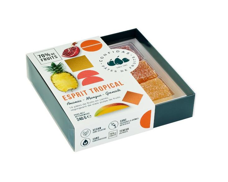 """Confidas Pâtes de Fruits """"Esprit Tropical"""""""