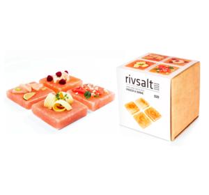 Freeze & Serve - 4 Himalayan Salt Plates