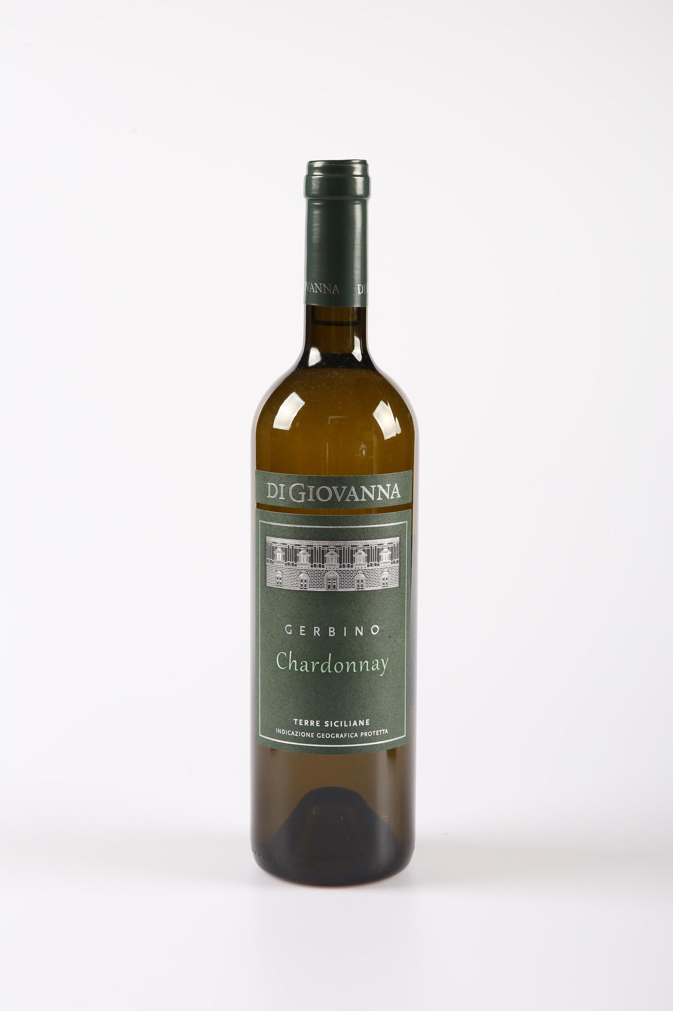"""Vinifera Terre Siciliane Chardonnay """"Gerbino"""" Bio Di Giovanna 2019"""