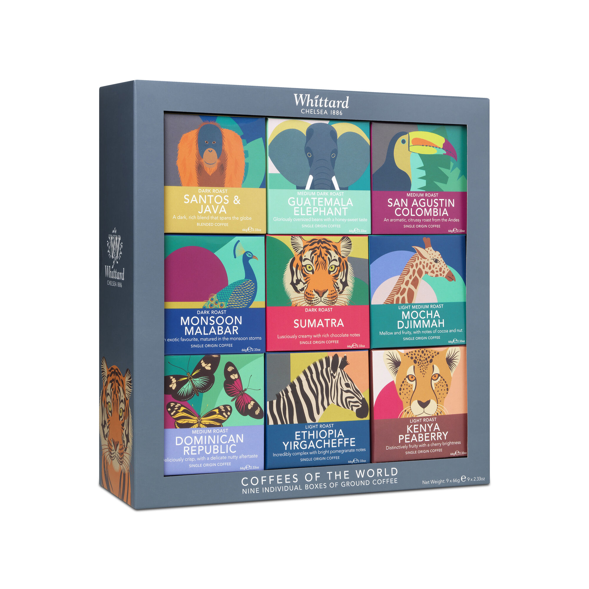Whittard & Chelsea Coffees of the World Giftset
