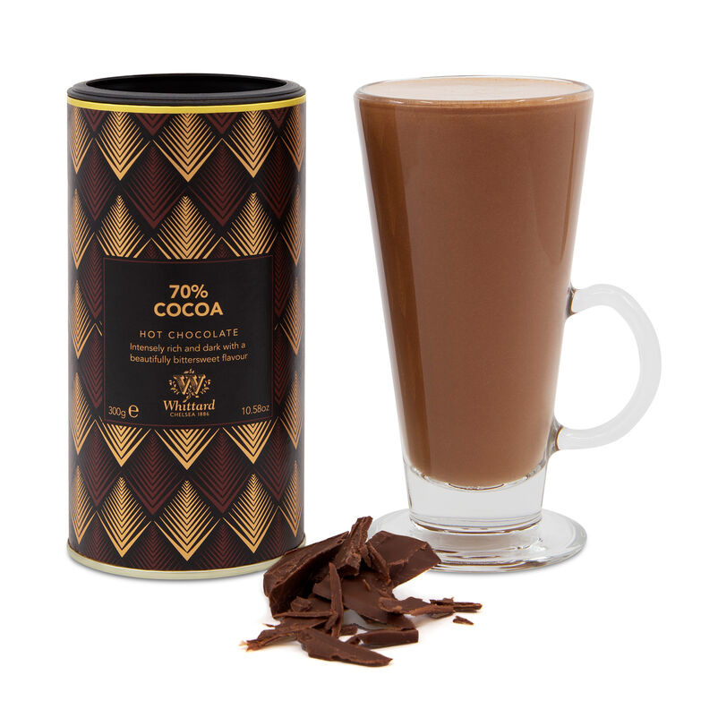 Whittard & Chelsea 70% Cacao Hot Chocolat 350gr