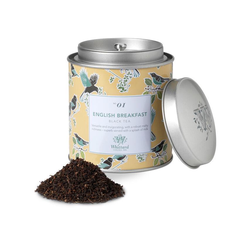 Whittard & Chelsea Tea Discoveries English Breakfast Tea Caddy 100gr