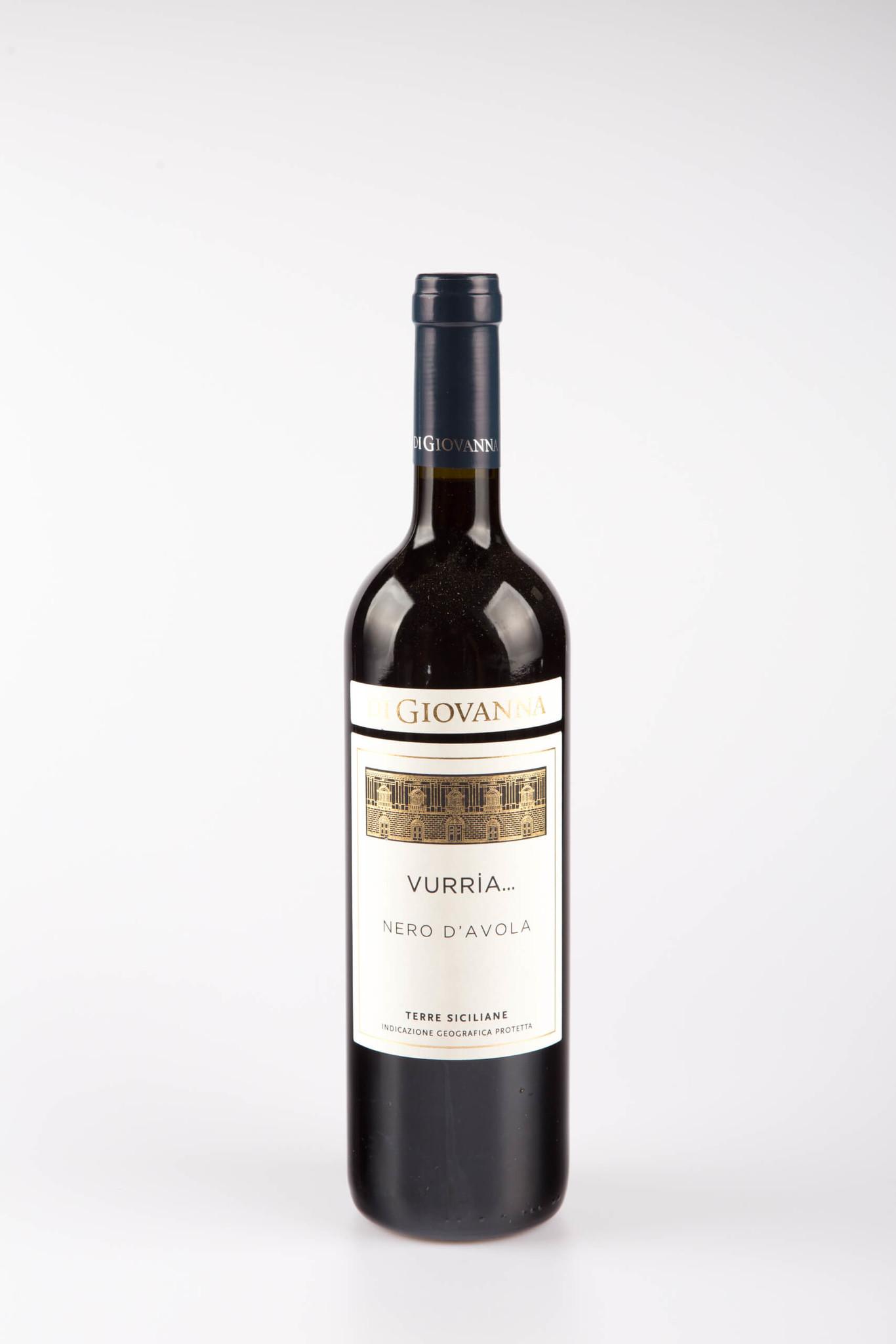 """Vinifera Sicilia Nero d'Avola """"Vurria"""" Bio Di Giovanna 2018"""