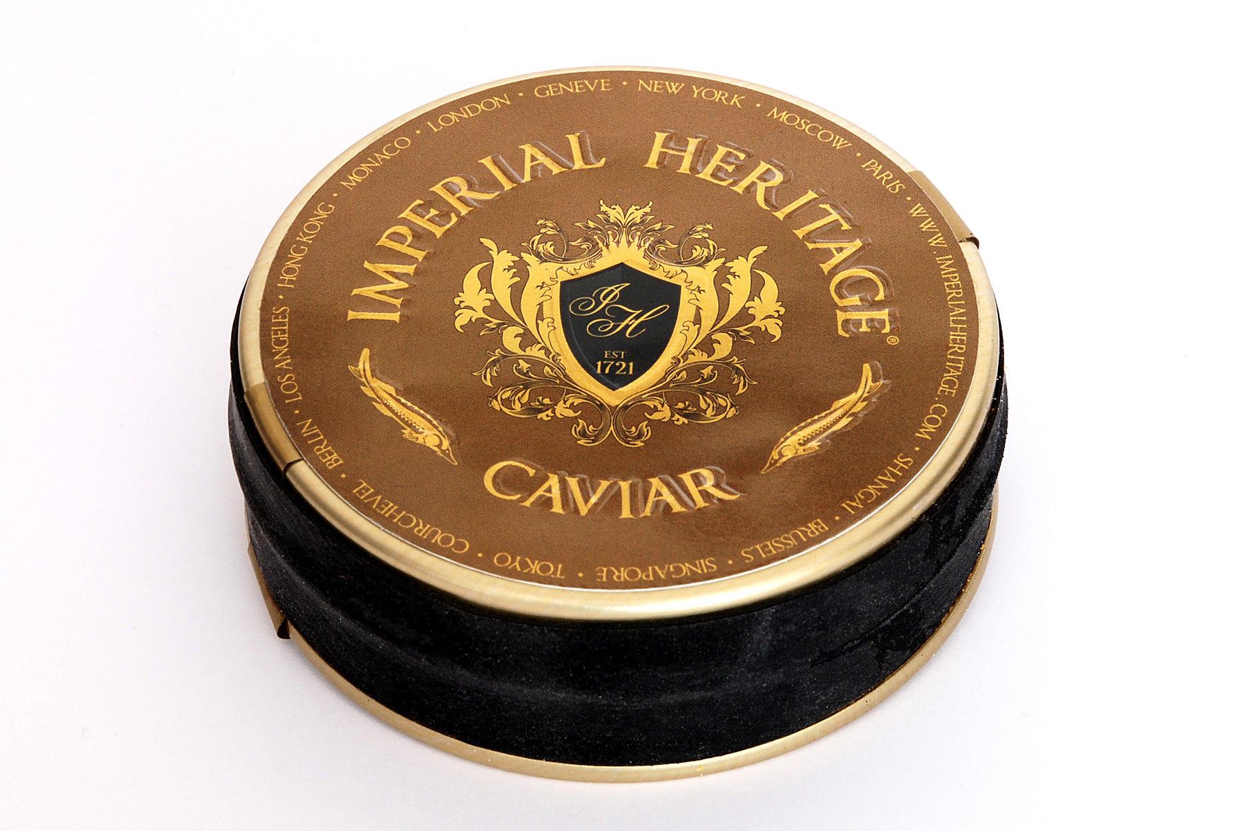 """Imperial Heritage Caviar Beluga Italië """"Royal"""" (Goud label)"""