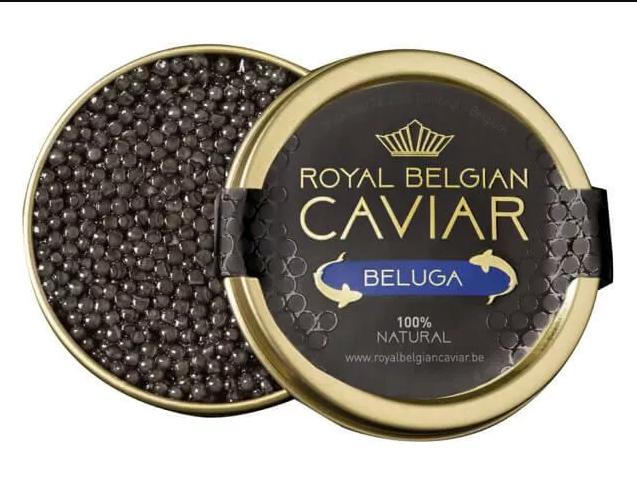 "Royal Belgian Caviar Royal Belgian Caviar ''Beluga"""