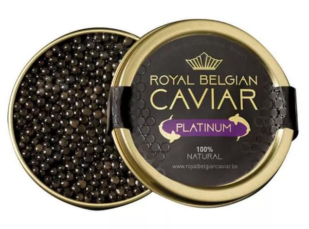 "Royal Belgian Caviar Royal Belgian Caviar ''Platinum"""