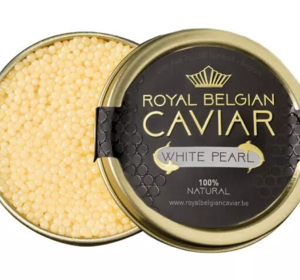 Royal Belgian Caviar ''White Pearl""