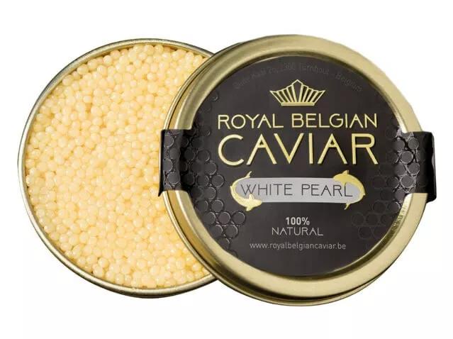 "Royal Belgian Caviar Royal Belgian Caviar ''White Pearl"""