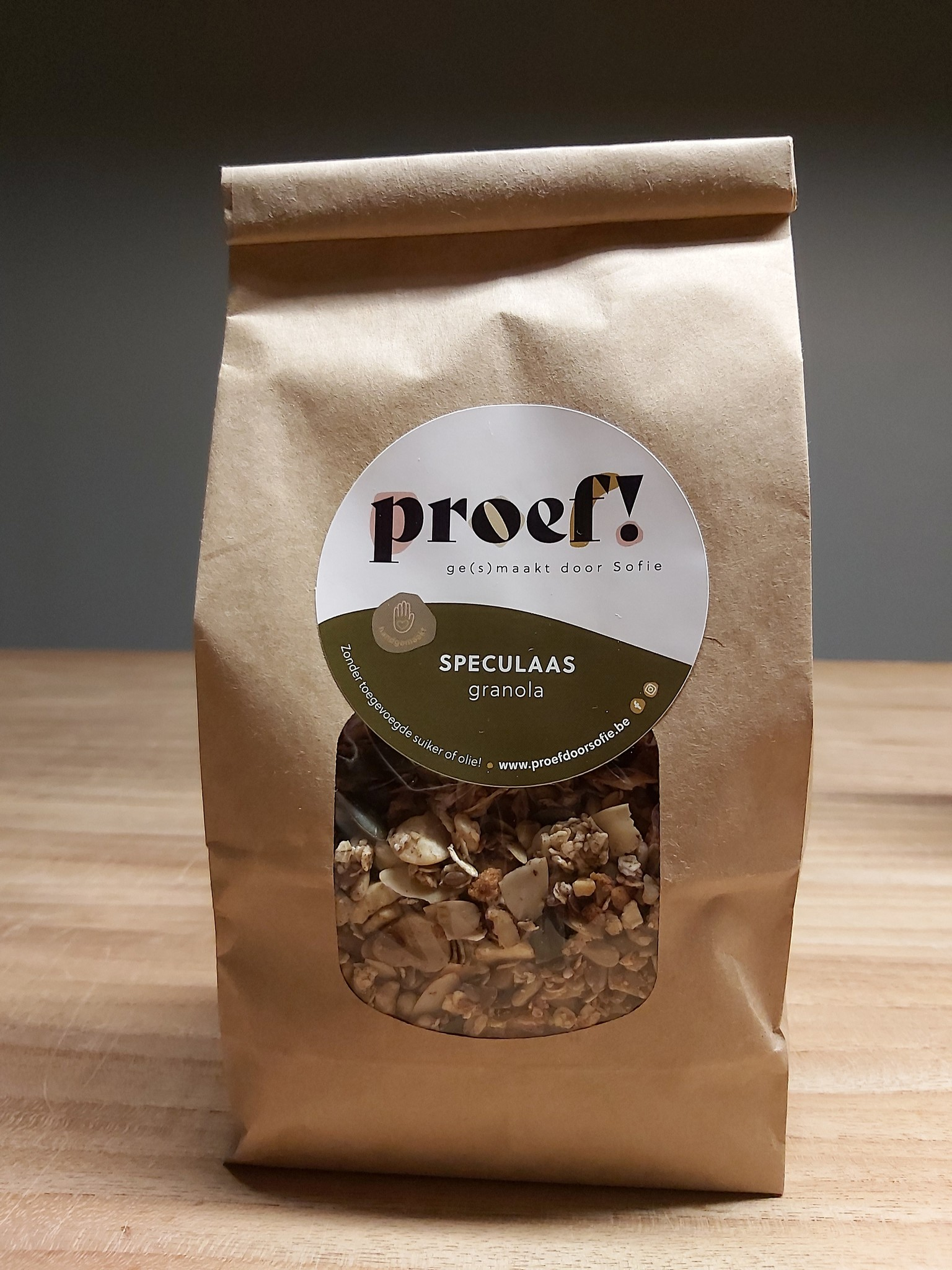 Proef! Granola Speculaas 400gr