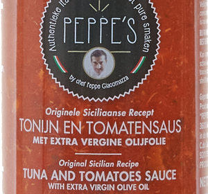 Tonijn en Tomatensaus 300gr