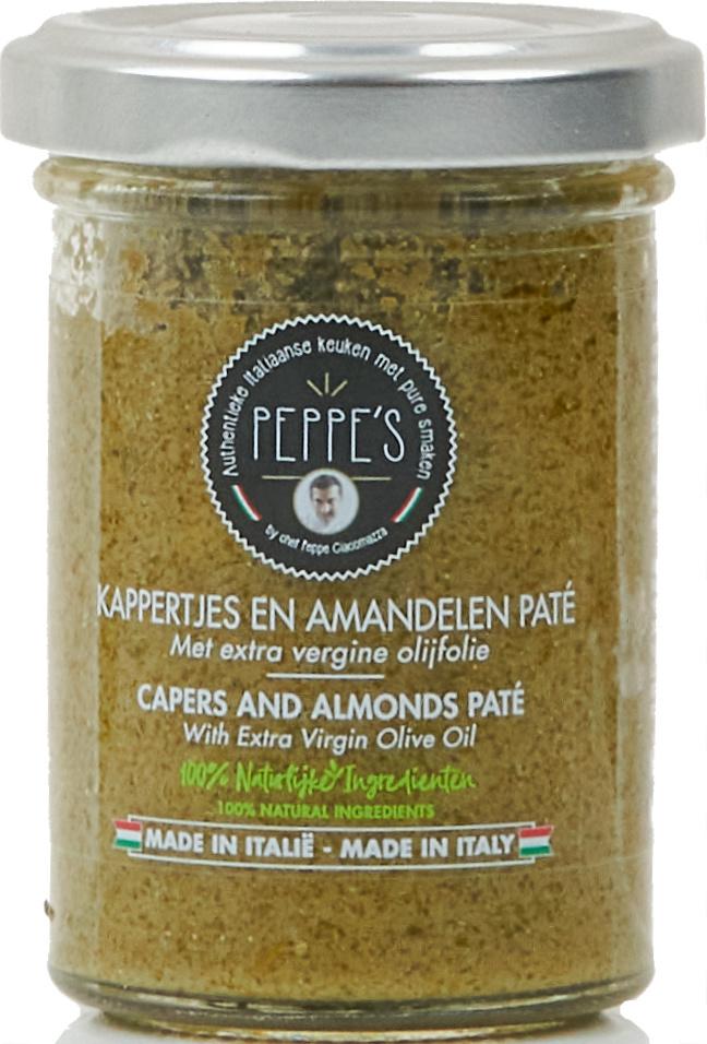 Peppe's Kappertjes en Amandelen Paté 90gr
