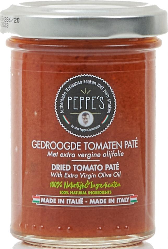 Peppe's Gedroogde Tomaten Paté 90gr