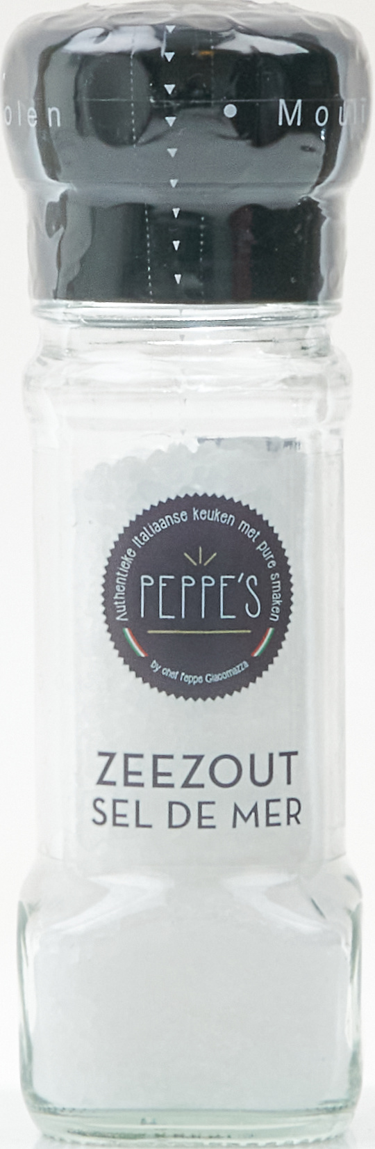 Peppe's Zeezout Molen 100gr