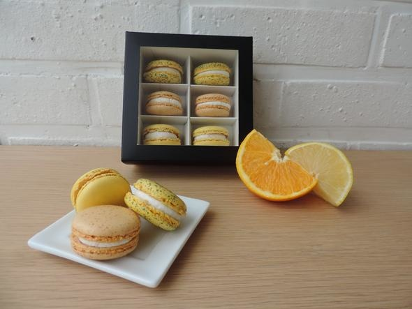 Macaronshop Macaron Citrus Box -Small