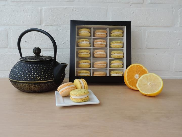 Macaronshop Macaron Citrus Box - Large